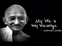 Mahatma, The Great Man Himself.......