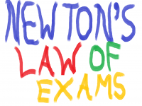 Newton's Laws of Exams